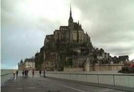 Marea da record e Mont Saint Michel ridiventa un'isola