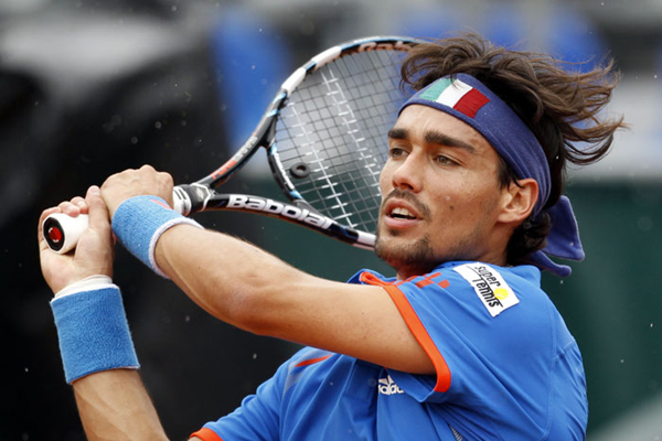 Roland Garros, eliminato Fabio Fognini