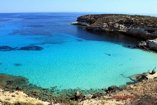 Isola dei Conigli (Lampedusa), 3^ spiaggia al mondo e 1^ in Europa