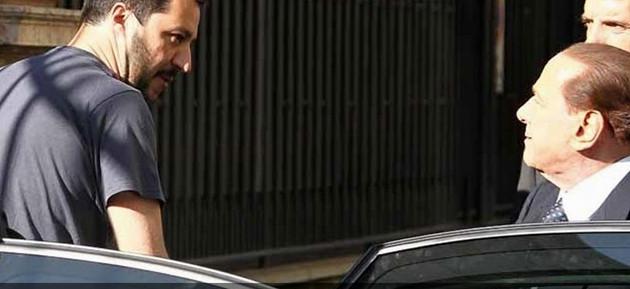 Salvini chiude a Berlusconi e chiama i delusi di FI