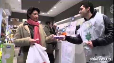 Giornata di Raccolta del Farmaco: medicinali per i poveri (VIDEO)