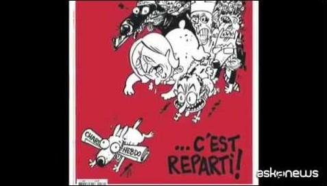 Il 25 febbraio torna in edicola Charlie Hebdo