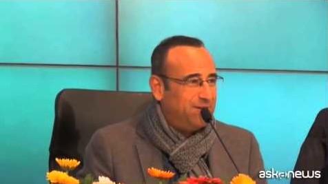 Sanremo, Carlo Conti gioca sul nome dei Kutso con i giornalisti