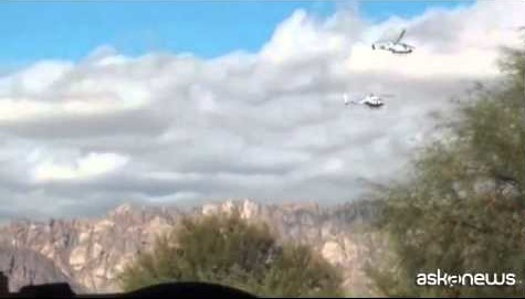 Argentina, le immagini dello scontro fra elicotteri