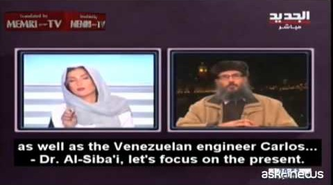 Reporter libanese zittita in tv reagisce: qui decido io