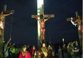 La Via Crucis sfila per le strade di Caracas