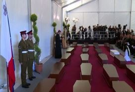 Cerimonia funebre a Malta per vittime naufragio (VIDEO)
