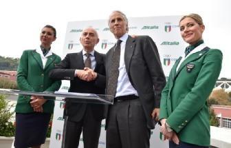 Alitalia, 10 mila euro borsa di studio per ogni oro olimpico