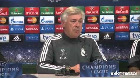 Champions, Ancelotti: per passare turno bastano due pareggi (VIDEO)