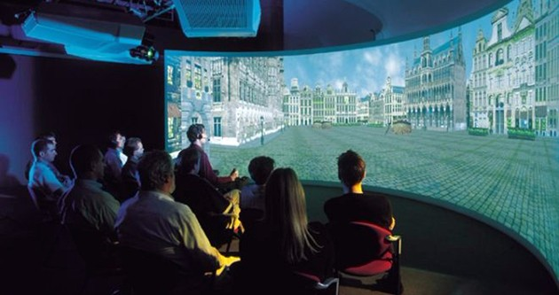 Google va oltre la tv, le pareti di casa saranno schermi