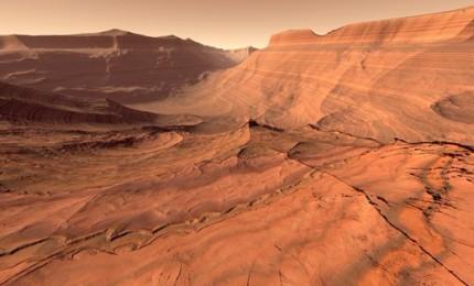 Acqua salata su Marte, conferme per la scoperta italiana del 2018