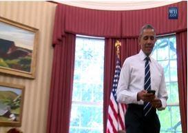 Obama ha il suo account Twitter personale, @Potus (VIDEO)