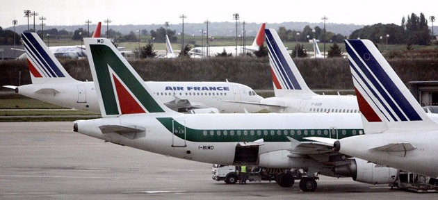 Alitalia abbandonerà partnership con Air France-Klm dal 2017