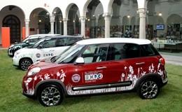 Fiat, al debutto la serie speciale 500L Expo