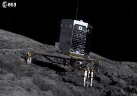 Spazio, lander Philae completamente sveglio