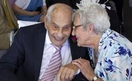 Lui 103 anni, lei 91, sono convolati a nozze in Inghilterra