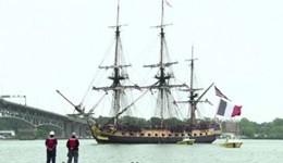 L'Hermione torna negli Usa: la copia della fregata di La Fayette