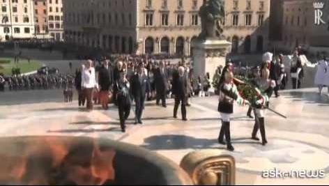 Prima Festa della Repubblica per Mattarella presidente