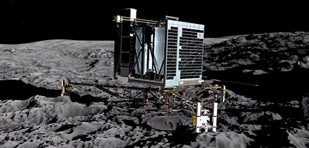 Si è risvegliata navetta Philae che s'era addormentata sulla cometa