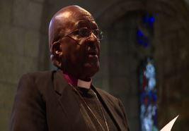 L'arcivescovo Tutu e la moglie festeggiano 60 anni di matrimonio