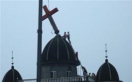 Abbattute 1.200 croci in Cina, i cristiani cinesi in piazza