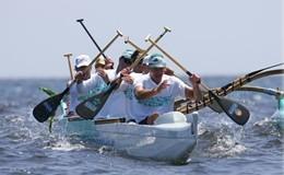 Nautica, traversata in canoa polinesiana CapoGallo-Ustica&rlm