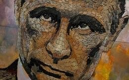 Cinquemila proiettili per realizzare un ritratto di Putin