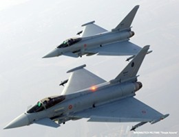 Finmeccanica, maxi-commessa in Kuwait per 28 Eurofighter