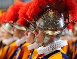 In Vaticano arrivano 33 nuove reclute delle Guardie svizzere