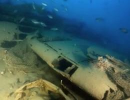 Palermo, ritrovato a 75 metri di profondità un B17 statunitense
