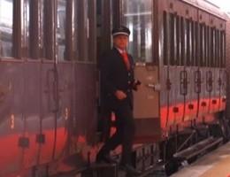 Franceschini sul treno storico a Pietrarsa: ''Valorizzare il Sud''