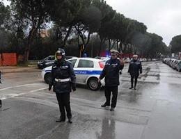 Strade allagate e auto distrutte a Palermo per il maltempo