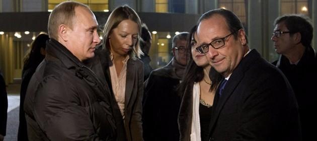 """Hollande da Putin, il capo del Cremlino infuriato contro """"traditore"""" Erdogan"""