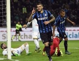 Poker al Frosinone, e ora l'Inter vola in testa