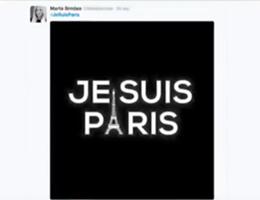 Social si mobilitano: ''Je suis Paris'' e ''PrayForParis'' (video)