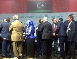 Libia, firmato l'accordo Onu per un governo di unità nazionale