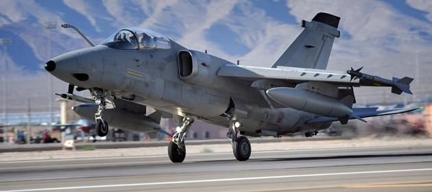 Occhio sul Nord Africa, arrivano 4 caccia AMX a Trapani Birgi
