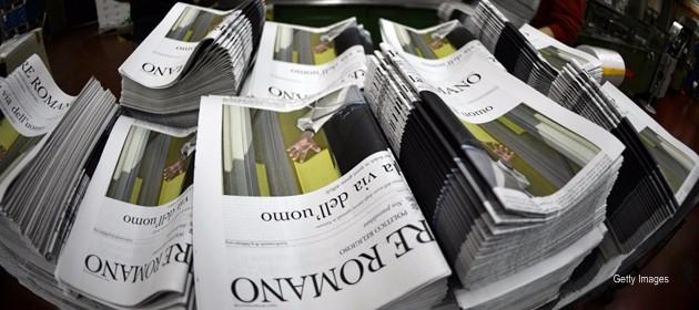 Brutto botto per la Rai, anche il giornale del Papa condanna la bestemmia sull'ammiraglia. L'azienda apre un'inchiesta
