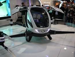 Dal Ces 2016 arriva l'Ehang 184, drone per trasporto persone (video)