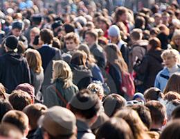 La popolazione mondiale vive sull'1% del pianeta