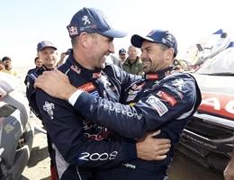 Rally raid Dakar, doppietta Peugeot
