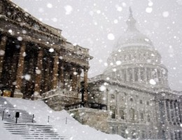 L'incredibile time lapse della super nevicata a Washington