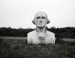 Busti giganteschi di presidenti americani dimenticati dal tempo