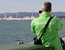 Fukushima, ricerca di Greenpeace sulle acque radioattive