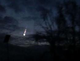 Un meteorite avvistato nel Nord Italia, il video amatoriale