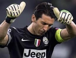Juve-Sassuolo 1-0, Dybala segna e Buffon supera Zoff