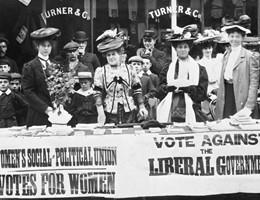 Le foto più belle del movimento delle suffragette inglesi