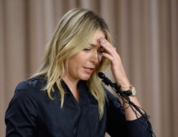 Tennis sotto shock, Sharapova positiva all'antidoping