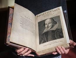 In Scozia spunta una nuova copia del First Folio di Shakespeare