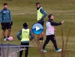 Campo base, l'allenamento in attesa della Lazio